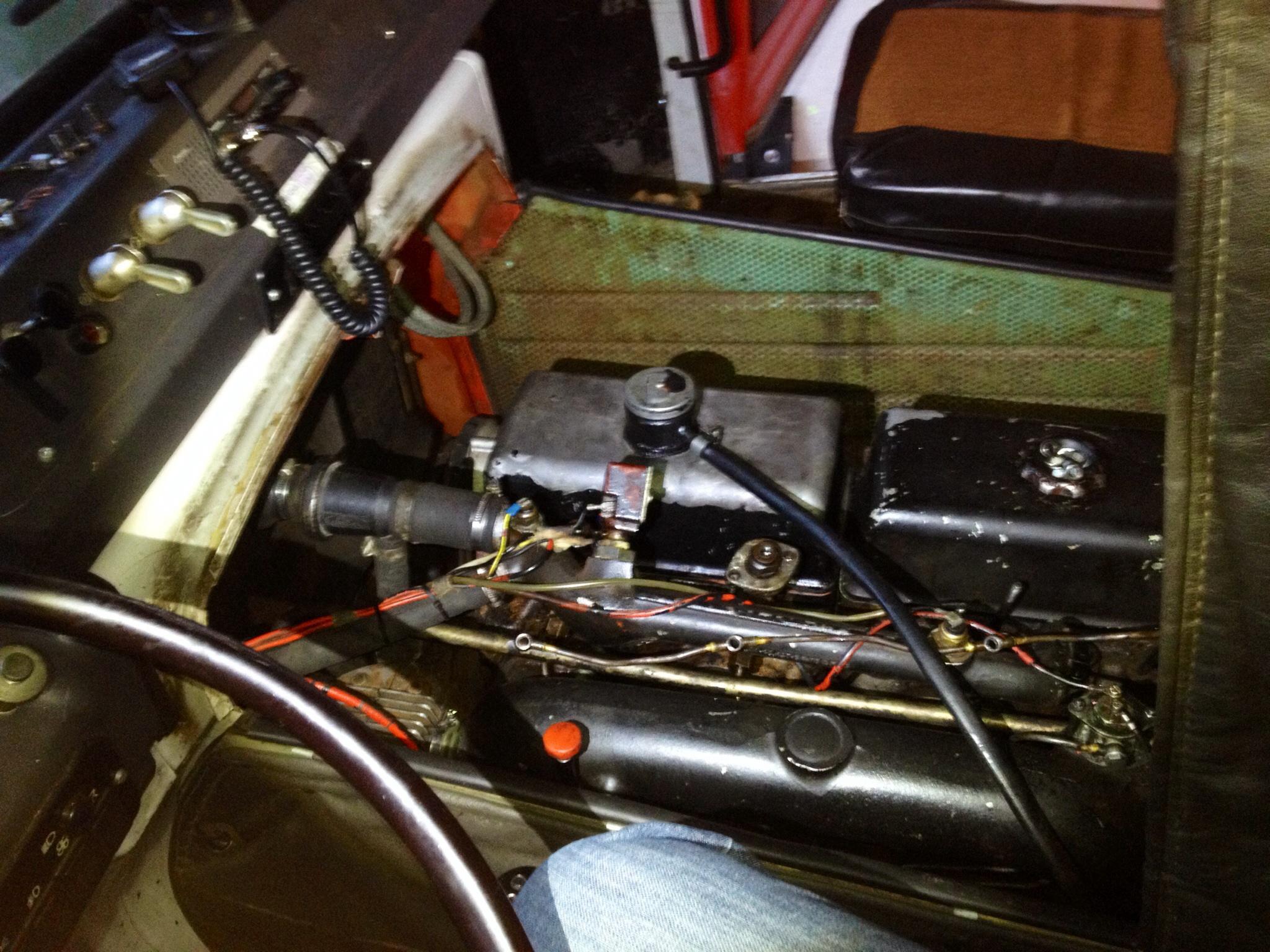 Motor mit regenerierten Dieseleinspritzdüsen