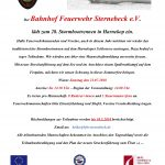 Einladung zum Sturmbootrennen in Harnekop